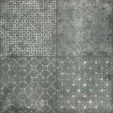 GRP. D-Scotland Ness Antracita padlódekor 60x60 I.o. 1,44m2./doboz