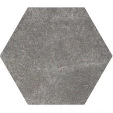Equ. P-Hexatile cement black 17,5x20  1m2./doboz