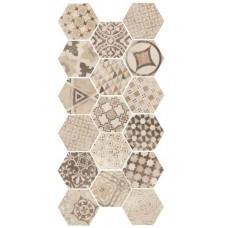 Equ. D-Hexatile cement garden sand 17,5x20  1m2./doboz
